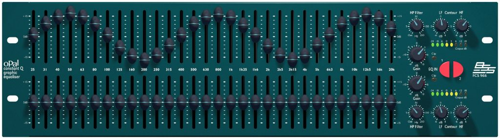 BSS - FCS966 Graphic Equalizer