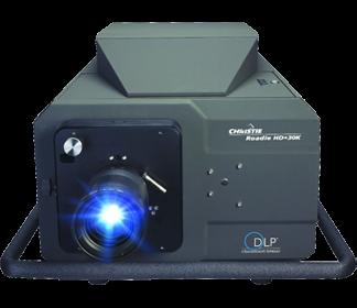 Christie Digital Roadie HD+30K 3-Chip HD DLP Projector