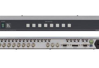 Kramer Electronics VS-801xlm 8×1:3 Composite Video & Stereo Audio Switcher