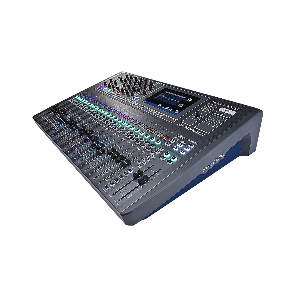 soundcraft si expression 3 digital mixing console used. Black Bedroom Furniture Sets. Home Design Ideas