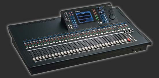 Yamaha Ls  Channel Digital Mixer