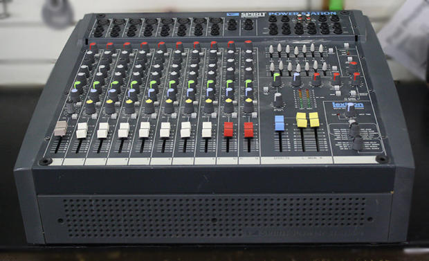 - 12 CHANNEL POWERED MIXER (POWERSTATION)