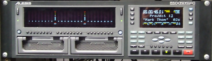 Alesis - HD24XR Hard Disk Recorder