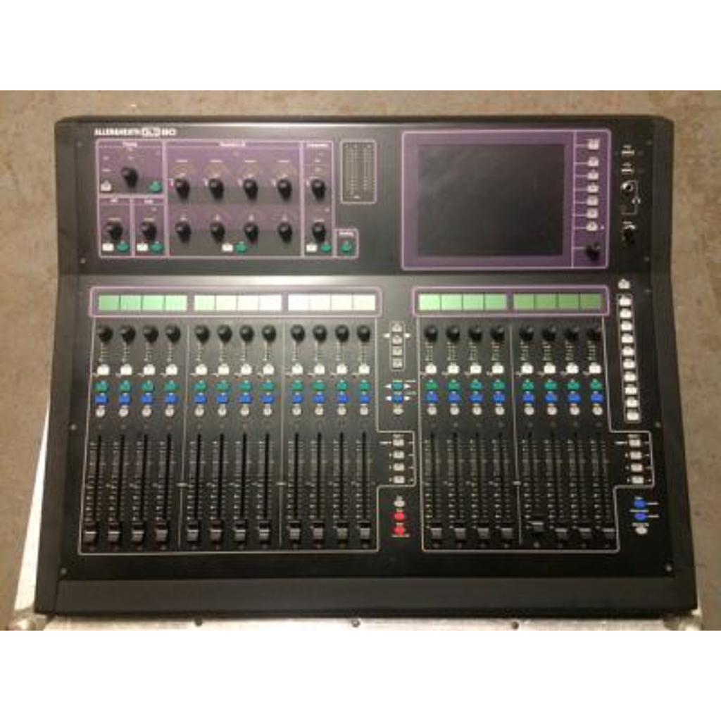 allen heath gld 80 digital mixer 10kused. Black Bedroom Furniture Sets. Home Design Ideas