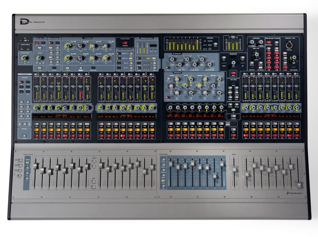 Avid | Digidesign - VENUE Profile Console