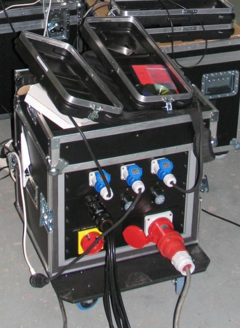 Barco - Rental power Box
