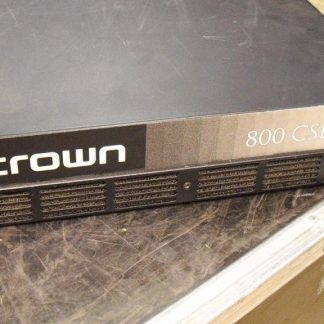 Used Crown 800 CSL Amplifier