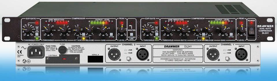 Drawmer - DL241 (2ch. compressor)