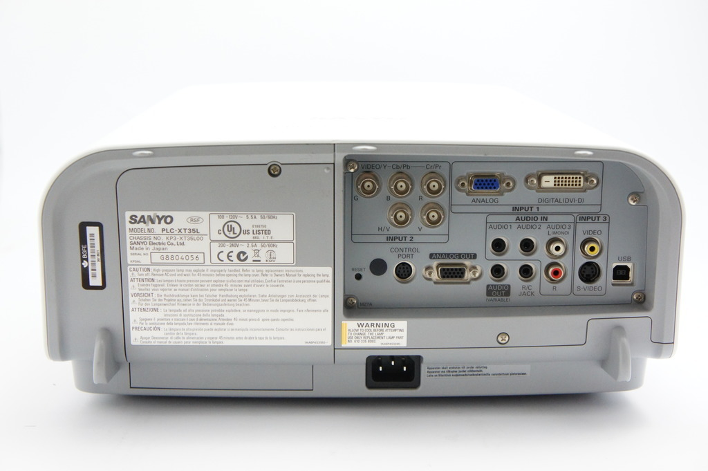 Used EIKI LC-XT3 XGA LCD Video Projector