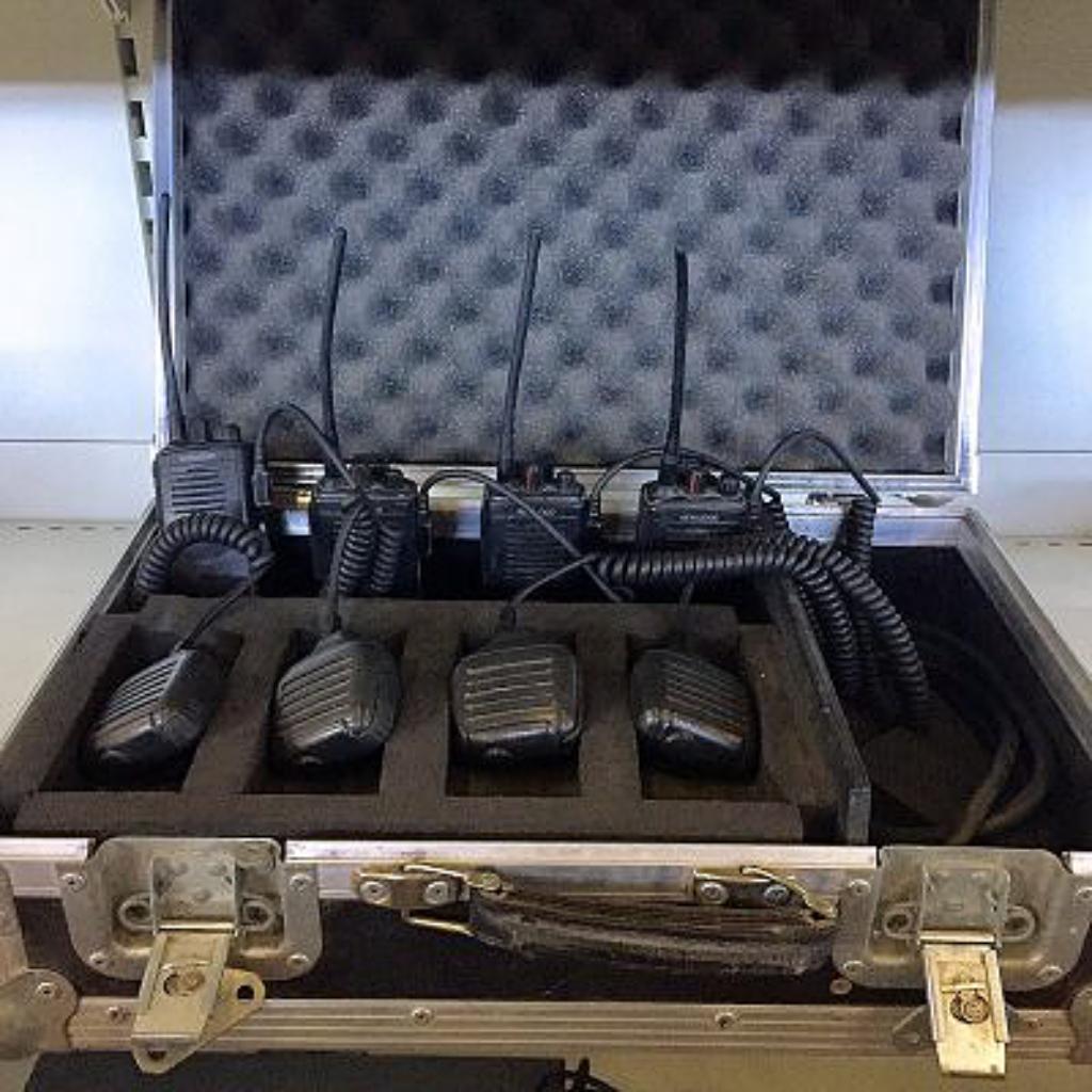 KENWOOD Set of 4 x TK3201 Two-Way Radio