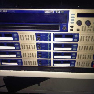Used Klark Teknik DN9340 and DN9344 Digital Equalizer