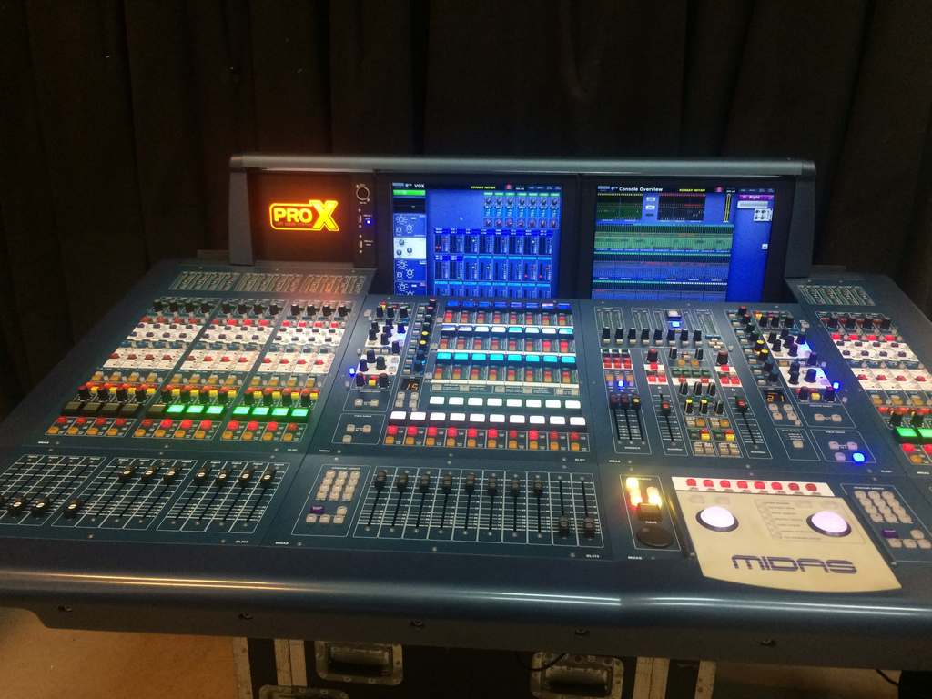 Midas - ProX Console with Case