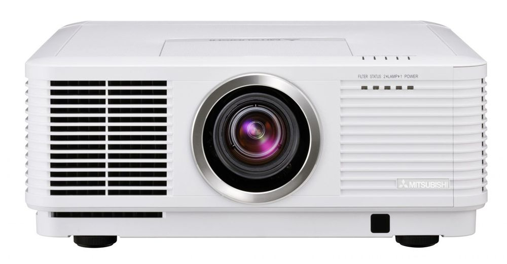 Mitsubishi - UD8400U 1080p Projector With 3 lenses