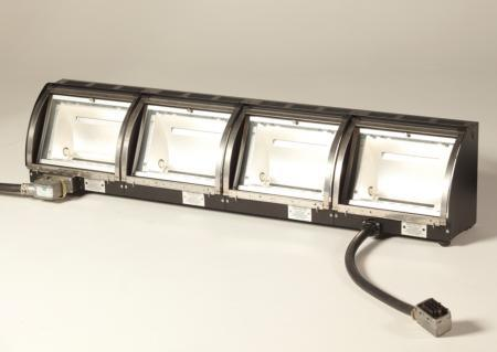 Used QuartzColor Orion 4 Rigid or Hinged Cyclorama Lighting Fixture