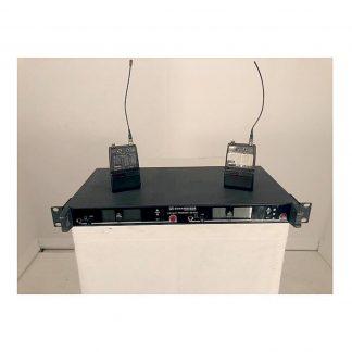 Used Sennheiser EM3032u Dual channel receiver