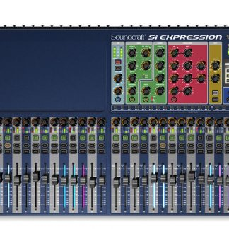 Used Soundcraft Si Expression 3 digital mixing console