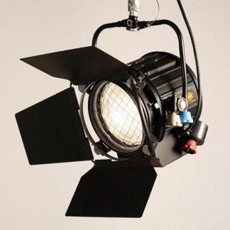 Used Strand Castor Fresnel Spotlight 2kW Pole-Operated Studio Lighting Fixture