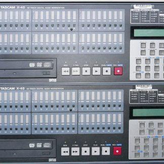 Tascam X48 48-Track Hybrid Hard Disk Workstation