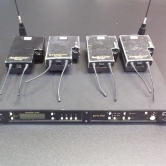 Telex - BTR700 / TR700 4 Way Wireless Talkback System