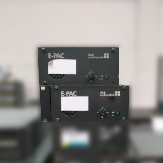 d&b audiotechnik E-PAC Power Amplifier Controller