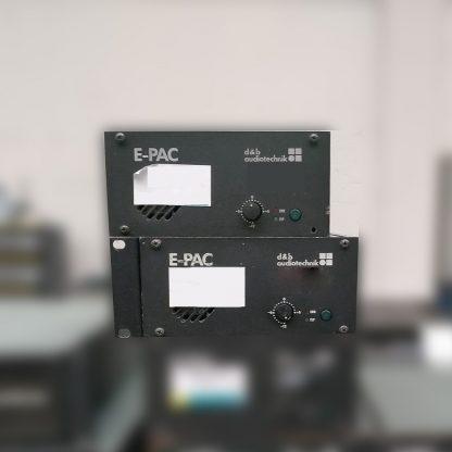 d&b audiotechnik E-PAC Power Amplifier Controller