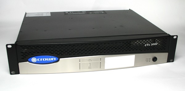 Used Crown CTS3000 USP4-CN Amplifier
