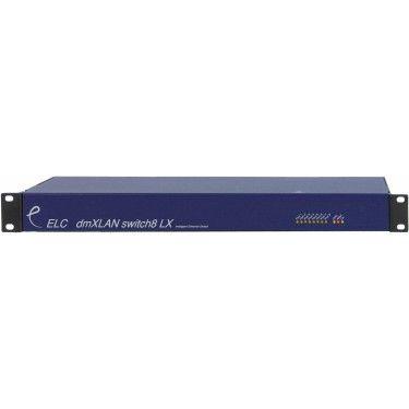 ELC dmXLAN switch8LX Lighting Controller
