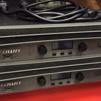 Crown Itech 5000HD Amps