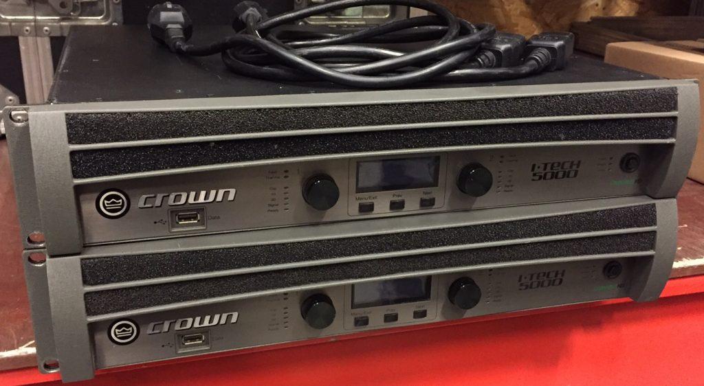 Crown Itech 5000HD Amps