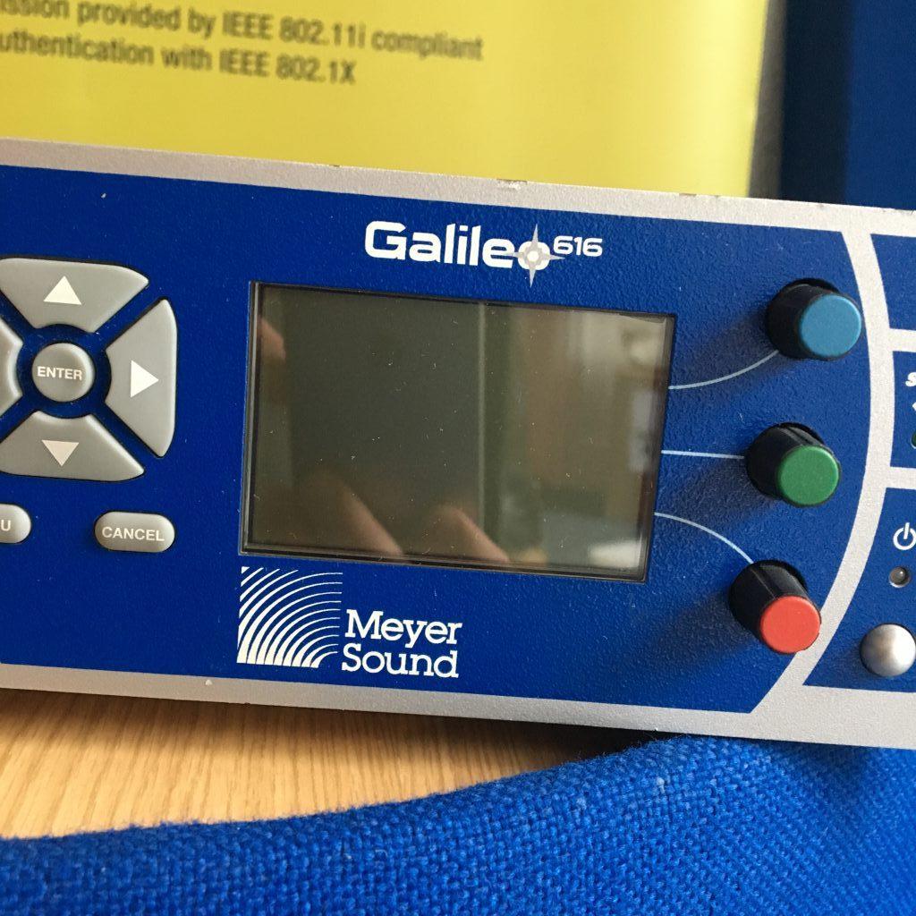Meyer Sound - Galileo 616 Used System Processor
