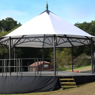 Bandstand Stage with 10 Meter Circular Deck