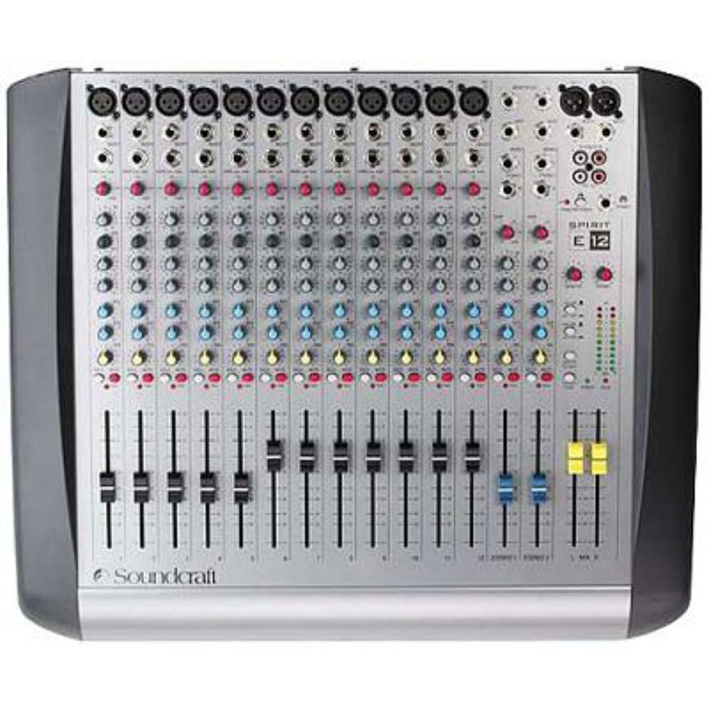 Soundcraft Spirit E12
