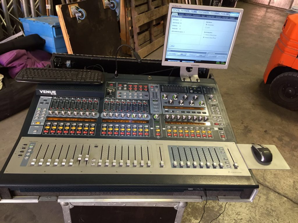 Avid-Digidesign Venue SC48