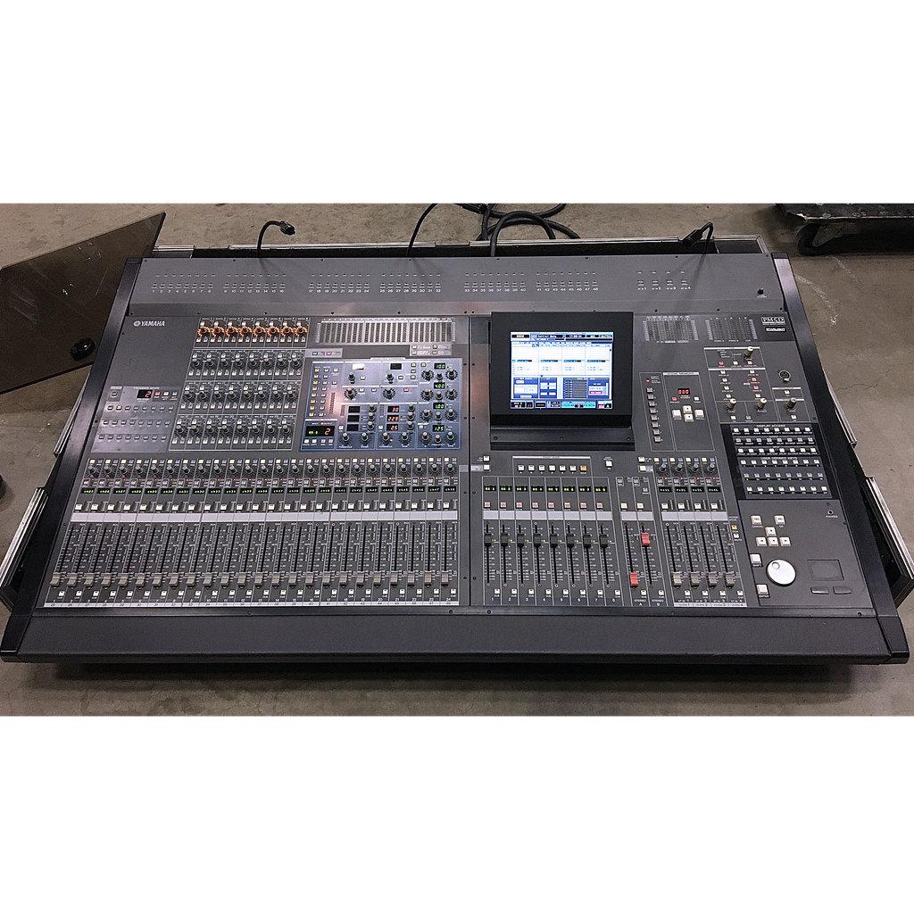 Yamaha pm5d non rh digital audio console 10kused for Yamaha sound console