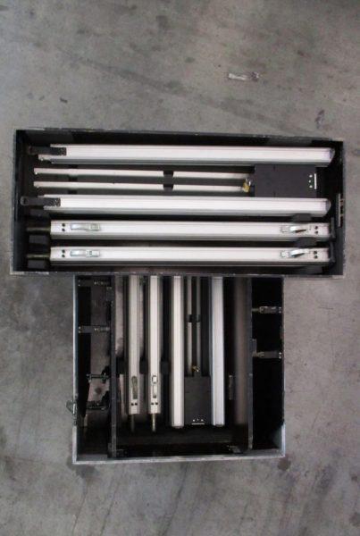 audiopack-Flight case ouvert double