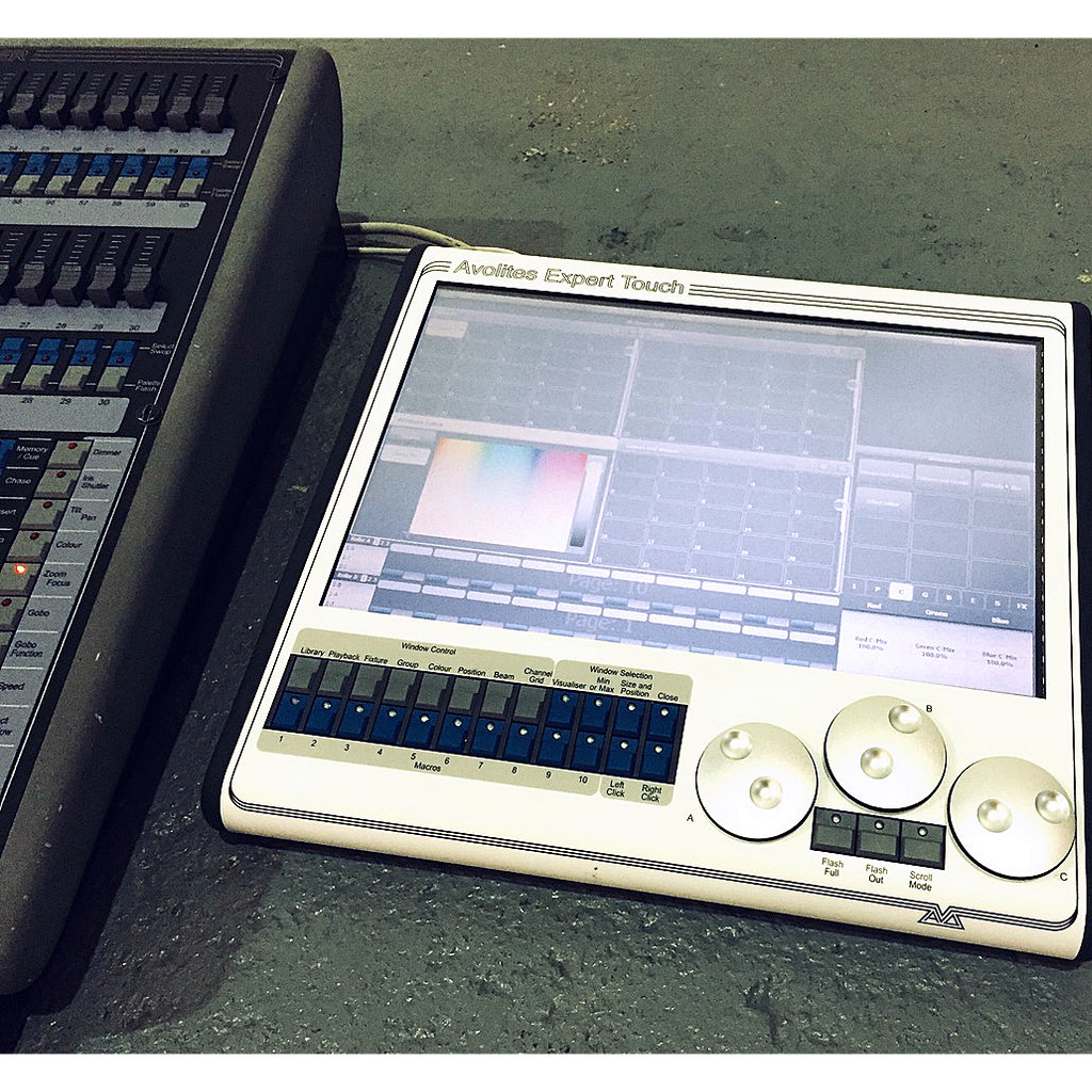 Avolites Pearl Expert c/w Touch Screen Upgrade