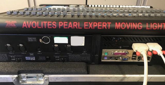 Avolites Pearl Expert Lighting Console