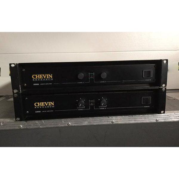 Chevin A3000 Amplifier