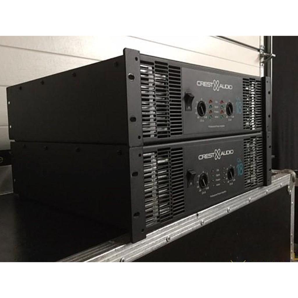 crest ca18 amplifier 10kused rh 10kused com Audio Amplifier Crest CA18 Specs