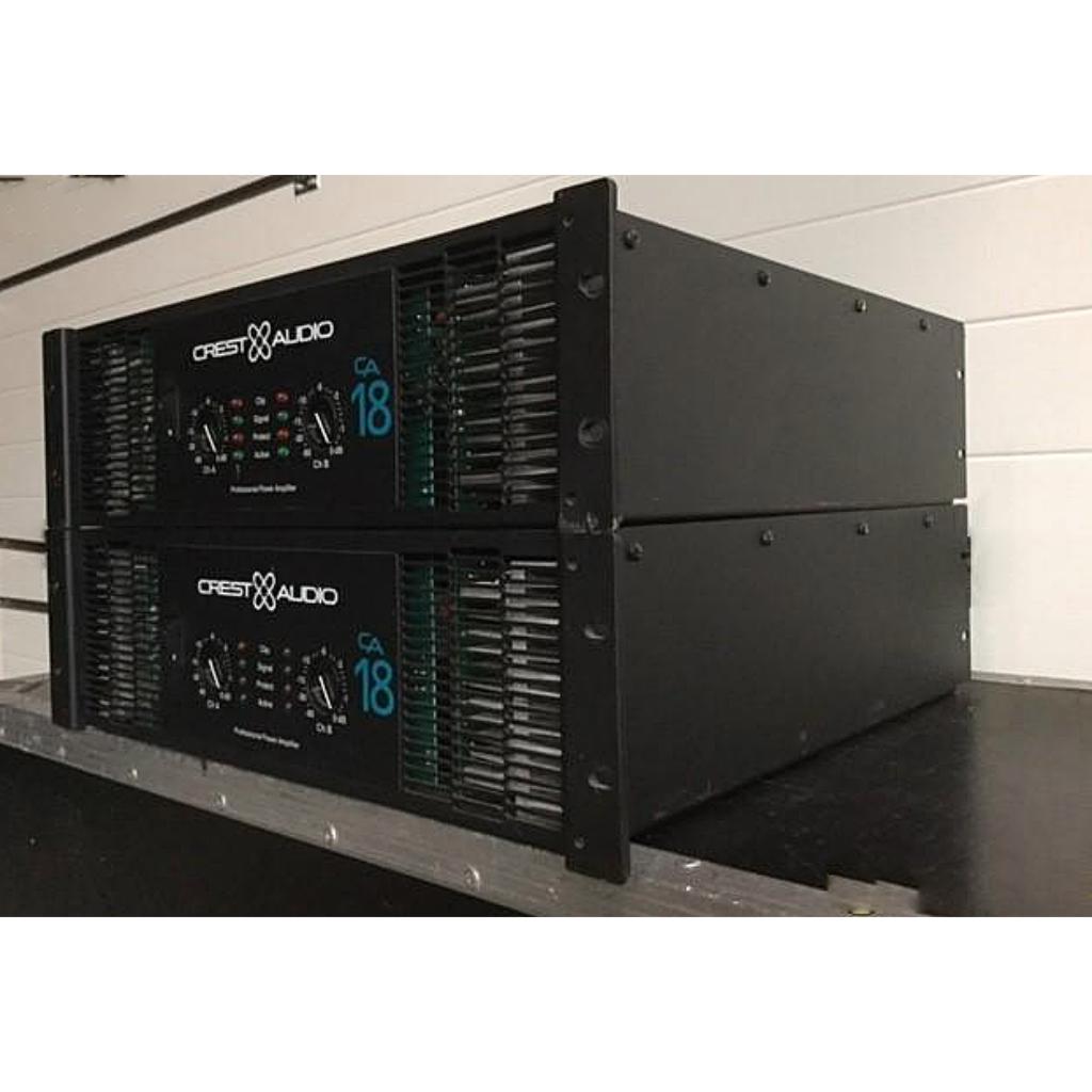 crest ca18 amplifier 10kused rh 10kused com Crest CA18 Capacitors 5000 Watt Amp