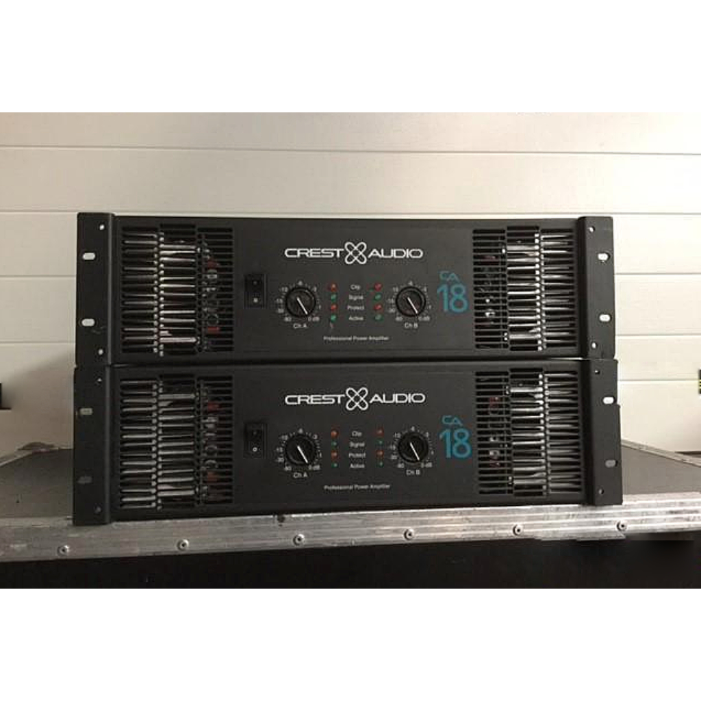 Crest CA18 Amplifier