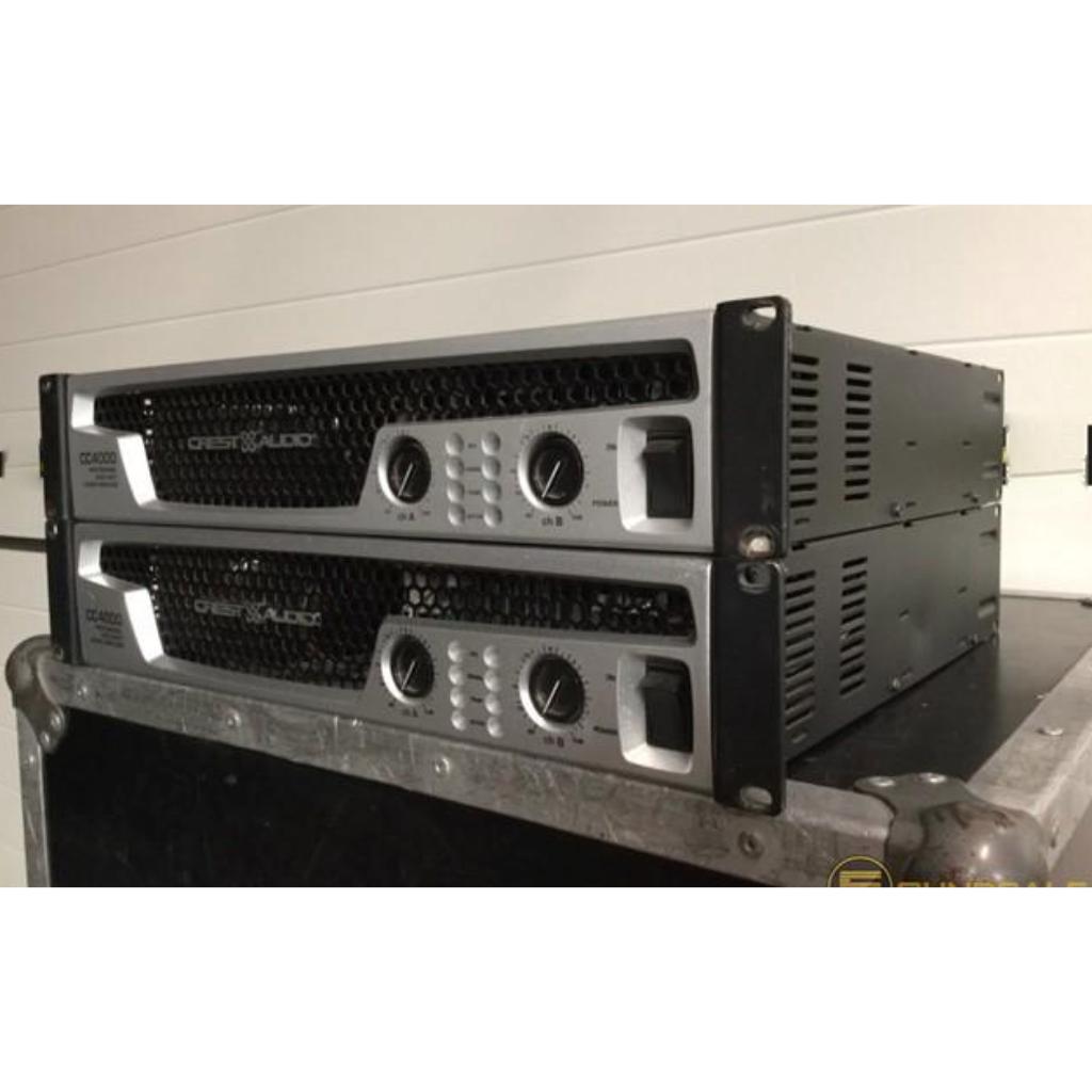 crest cc4000 10kused rh 10kused com Crest Power Amplifiers Crest Audio CC2800