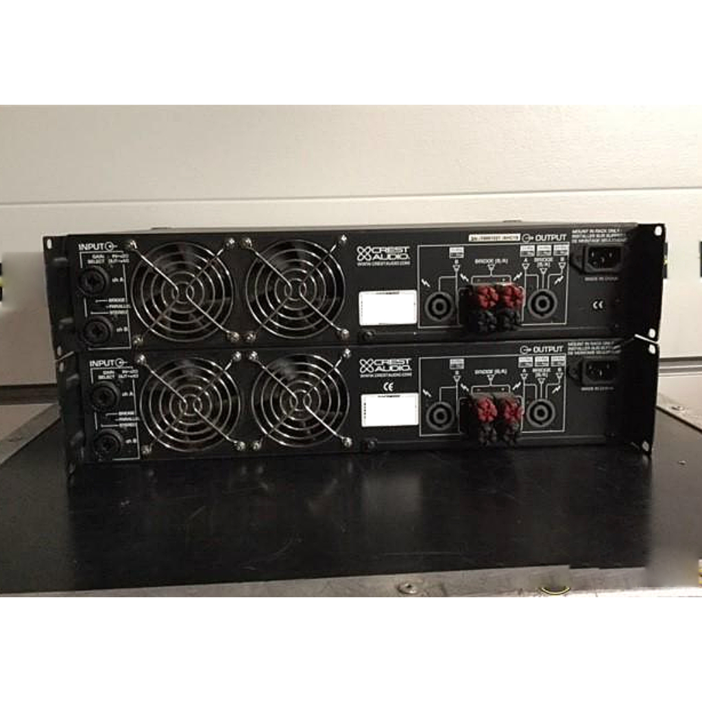 crest cc4000 10kused rh 10kused com Crest Power Amplifiers Amplifiers Crest Audio CD 4000