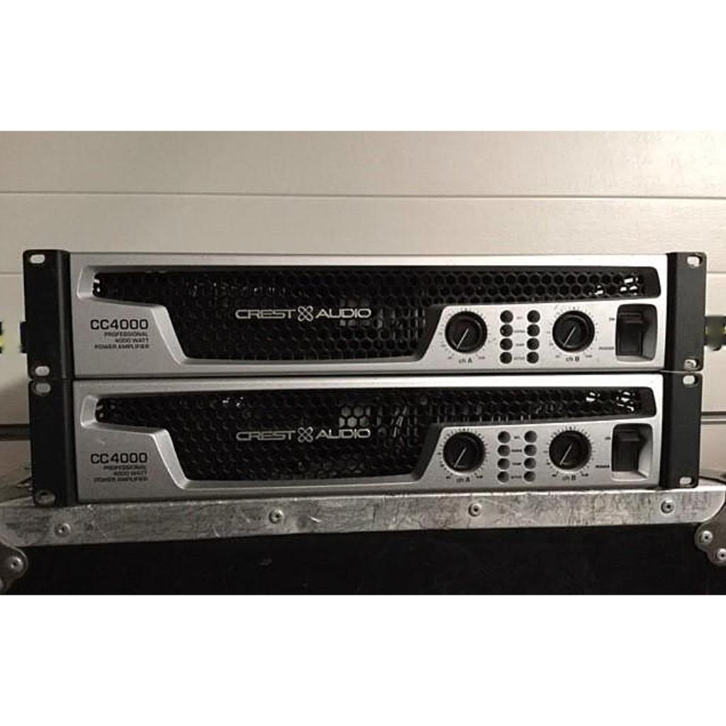 crest cc4000 10kused rh 10kused com User 1C V8 2 CC Amplifier
