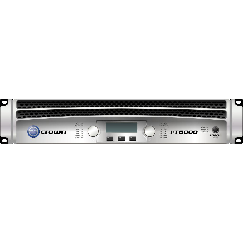 Crown-I-Tech-6000-amplifier-Package
