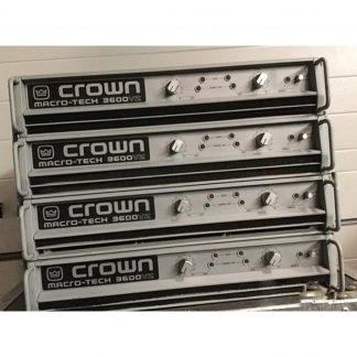 Crown MA3600vz Amplifier