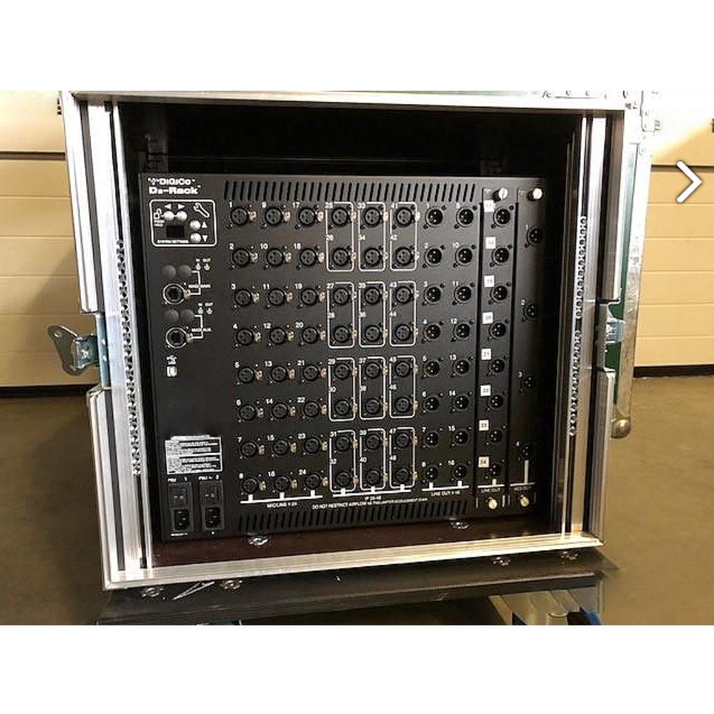 DiGiCo - SD9 Mixer + D2 Rack
