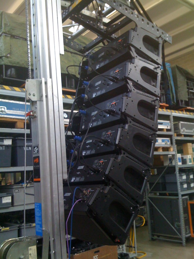 EAW-KF730-3-Way-Line-Array-Module