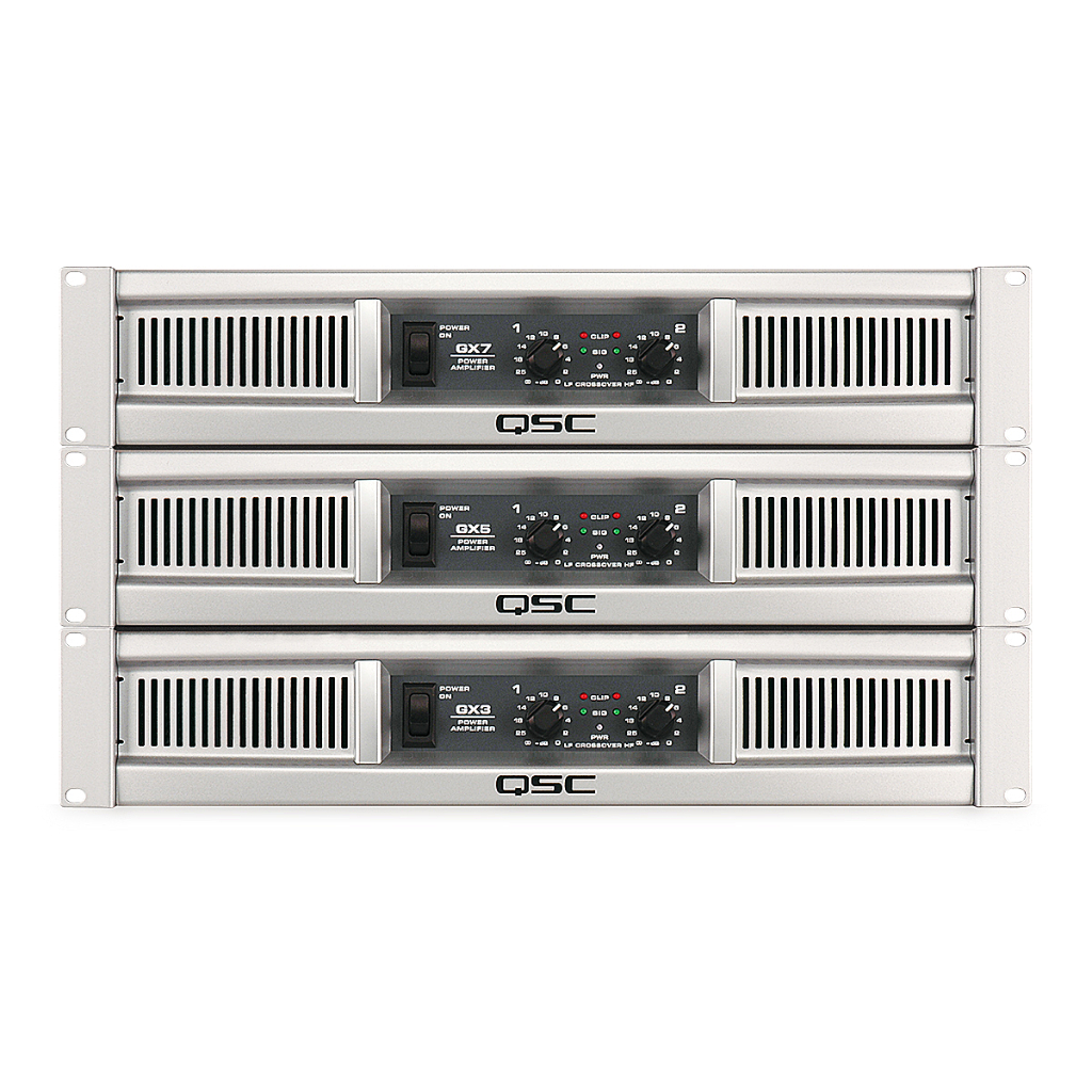 qsc gx5 amplifiers buy now from 10kused. Black Bedroom Furniture Sets. Home Design Ideas