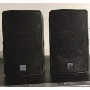 D&B Audiotechnik – EO 2 x Speakers and Bracket – Good Condition